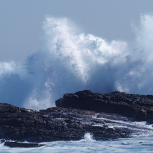 """""""Wave in Cape Point #01"""" - South Africa - 2006"""